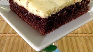 How To Make Cream Cheese Brownies Recipe-Cheesecake-Baking Comfort Food Recipes