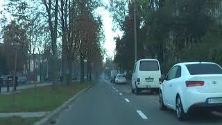 Первый урок вождения в городских условиях после подготовки на площадке