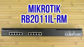 Розпакування MikroTik RB2011iL-RM