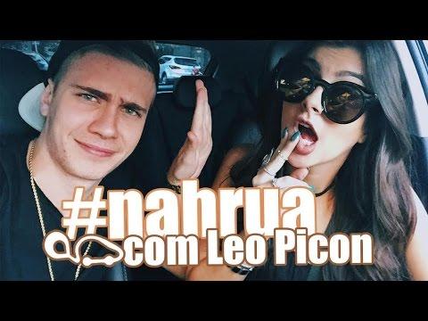 #NahRua com  Nah Cardoso e Leo Picon