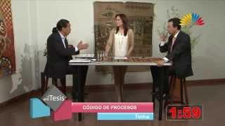 Tesis y Antítesis - Programa 66 - Código Orgánico General de procesos