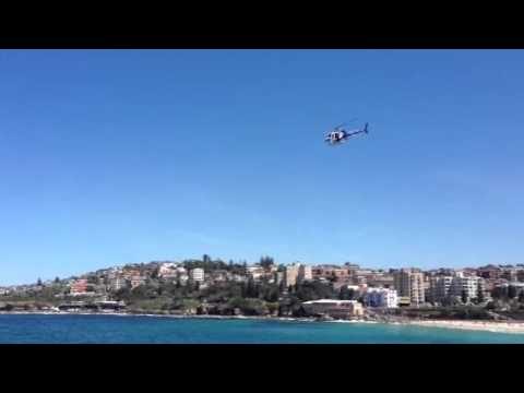 NSW Police & two Westpac Rescue Helicopters in Coogee