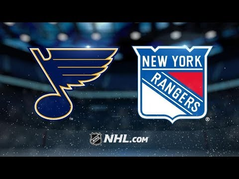 St. Louis Blues Vs. New York Rangers | NHL Game Recap | October 10, 2017 | HD