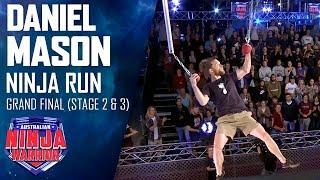Daniel Mason struggles with The Floating Doors | Australian Ninja Warrior 2019