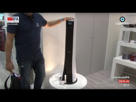 la minute IFA S03E23 : Ruban, la tour audio Bluetooth Thomson imaginée par Bigben