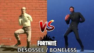 [DANCE] DÉSOSSÉE / BONELESS | IN REAL LIFE ► FORTNITE