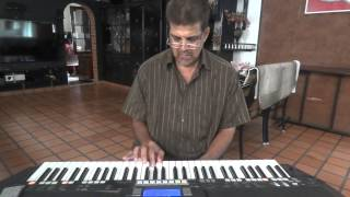 malarvaka kombathu, ennum eppozhum song on keyboard.