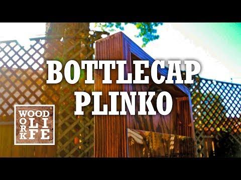 DIY Bottlecap Plinko Yard Game | Woodworking Builds