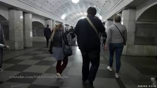 Переход метро Охотный Ряд - Театральная // 10 мая 2018