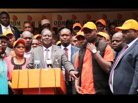 Raila\'s fury over insider bungling of party poll | PRESS REVIEW