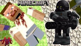 GMOD TẬP 2 | Roblox Sẽ Tiêu Diệt MineCraft | Roblox Kill Minecraft | MinhMaMa