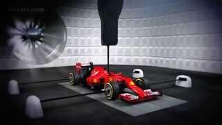 Ferrari F1 2014 Galleria del vento / Aerodinamica