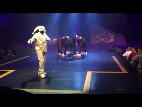 Jabbawockeez @ Universal Studios Holloween Horror Nights 2016
