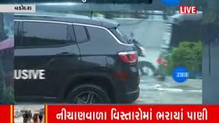 Vadodara: Heavy rain in Shinor, Water flooded in Many Areas | Zee24Kalak