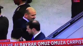 Berat Albayrak ile Suleyman Soylu birbirine omuz atti!
