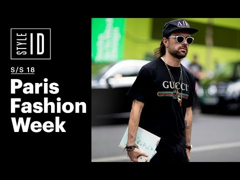 Style ID: Paris Fashion Week Men's S/S 18