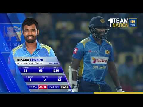 Thisara Perera's knock - T20I, Sri Lanka vs England at RPICS