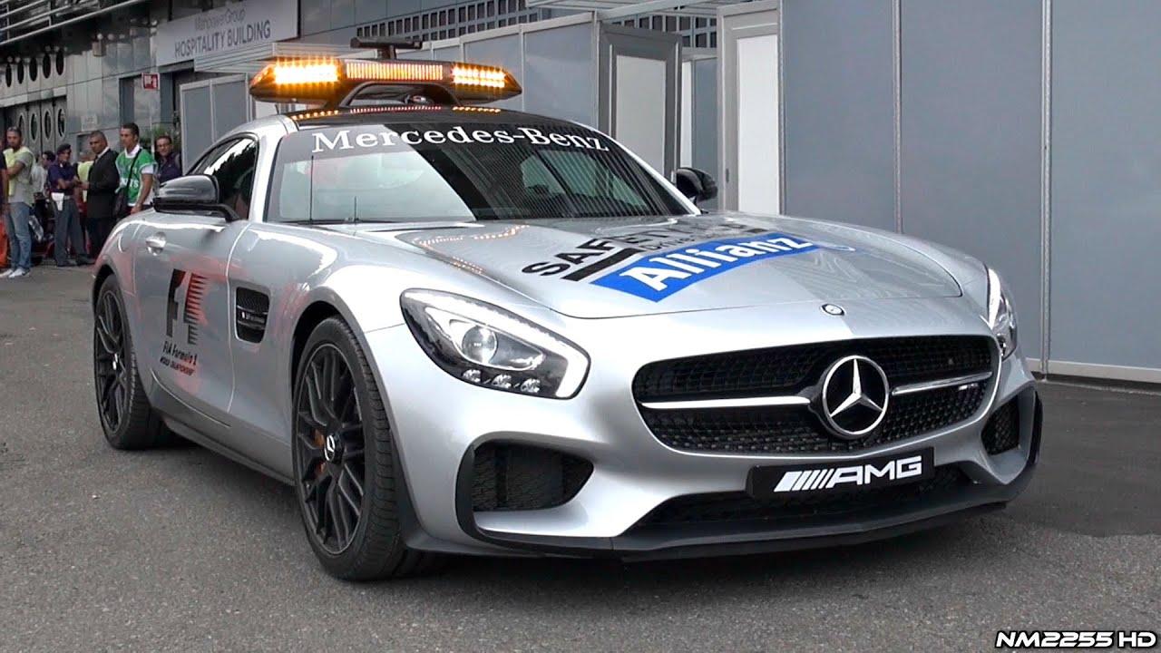 2017 Mercedes Amg Gt S F1 Safety Car Lovely Sound Track