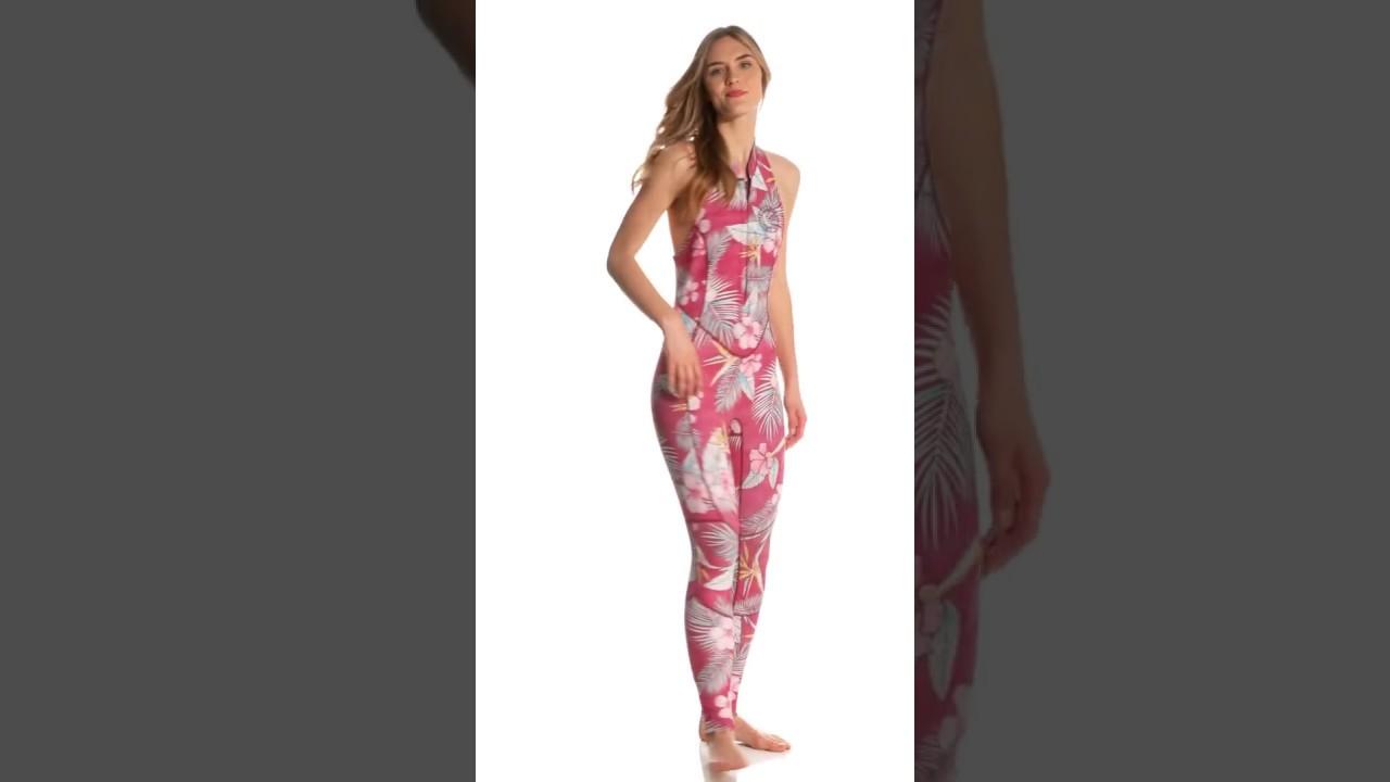 4a25750a27d17e Billabong Women s 2mm Mas Tropical Salty Jane Long Jane Wetsuit ...