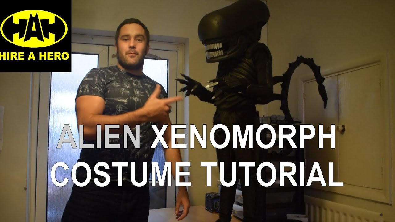 Alien Xenomorph Costume Tutorial