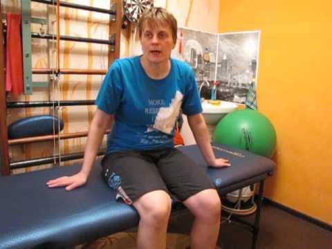 Как разрабатывать колено после перелома