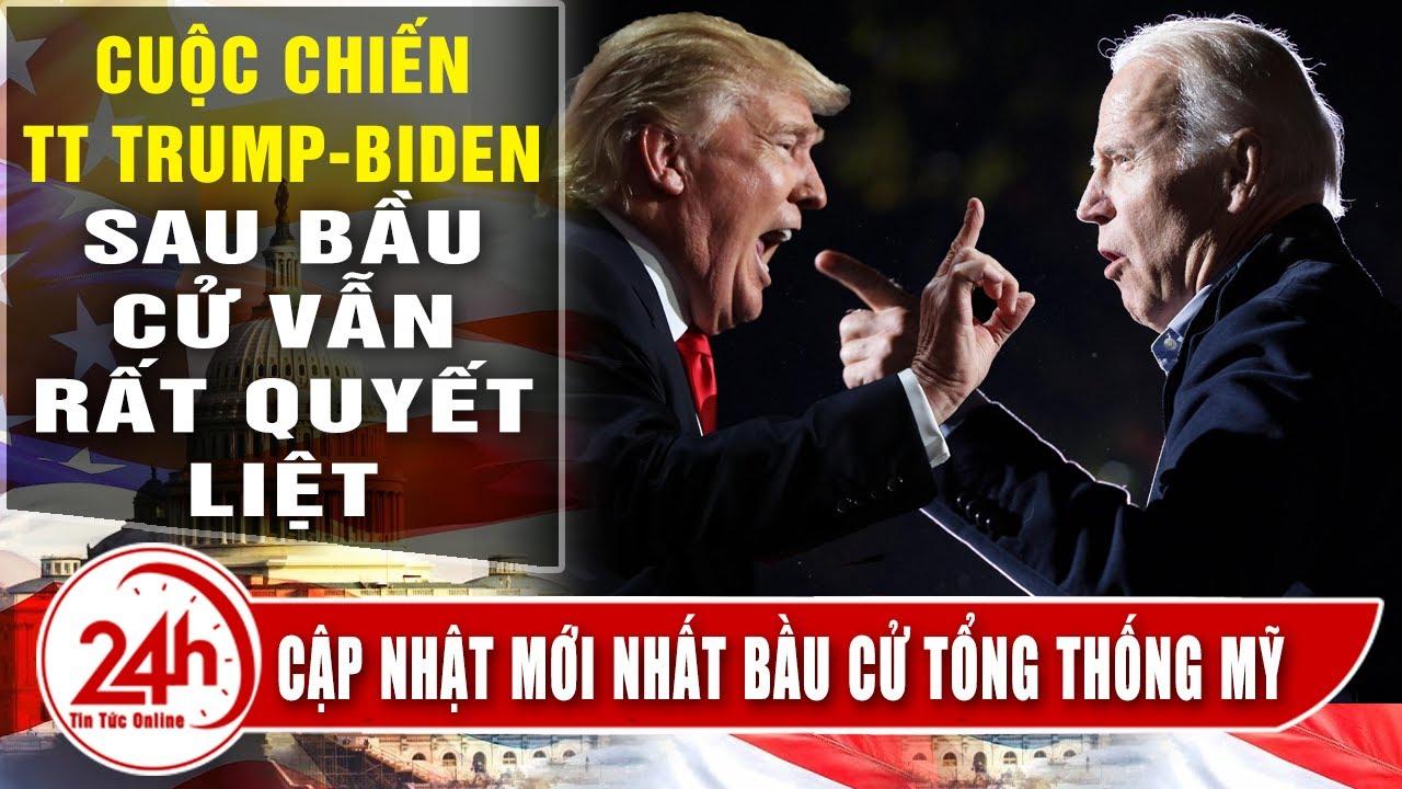 Cập Nhật Tình Hình Bầu cử mỹ mới nhất 14/11. cuộc chiến TT Trump vs Biden vẫn quyết liệt sau bầu cử