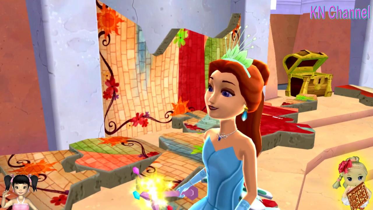 Thơ Nguyễn chơi game thế giới Công Chúa Tóc Mây tập 3   Tổng hợp kiến thức về tóc đẹp mới nhất