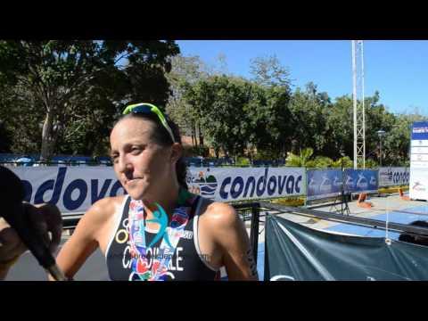 Cardinale y Akerson analizan III Copa Continental Playa Hermosa2016