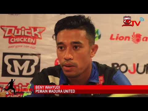 Pre-Match Press Conference MADURA UNITED VS PERSIJA JAKARTA