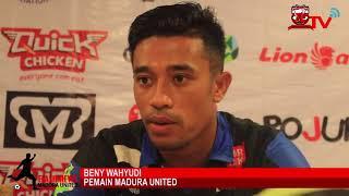 Pre-Match Press Conference MADURA UNITED VS PERSIJA JAKARTA