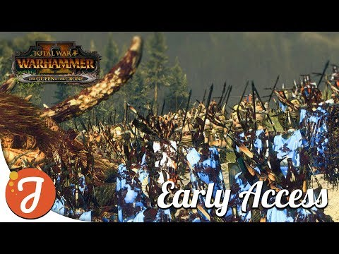 Mammoths Are Back, Baby! | Queen & The Crone DLC | Total War: Warhammer II |