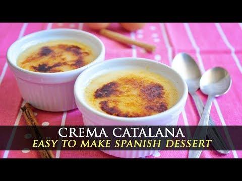 Homemade Spanish Crema Catalana Recipe