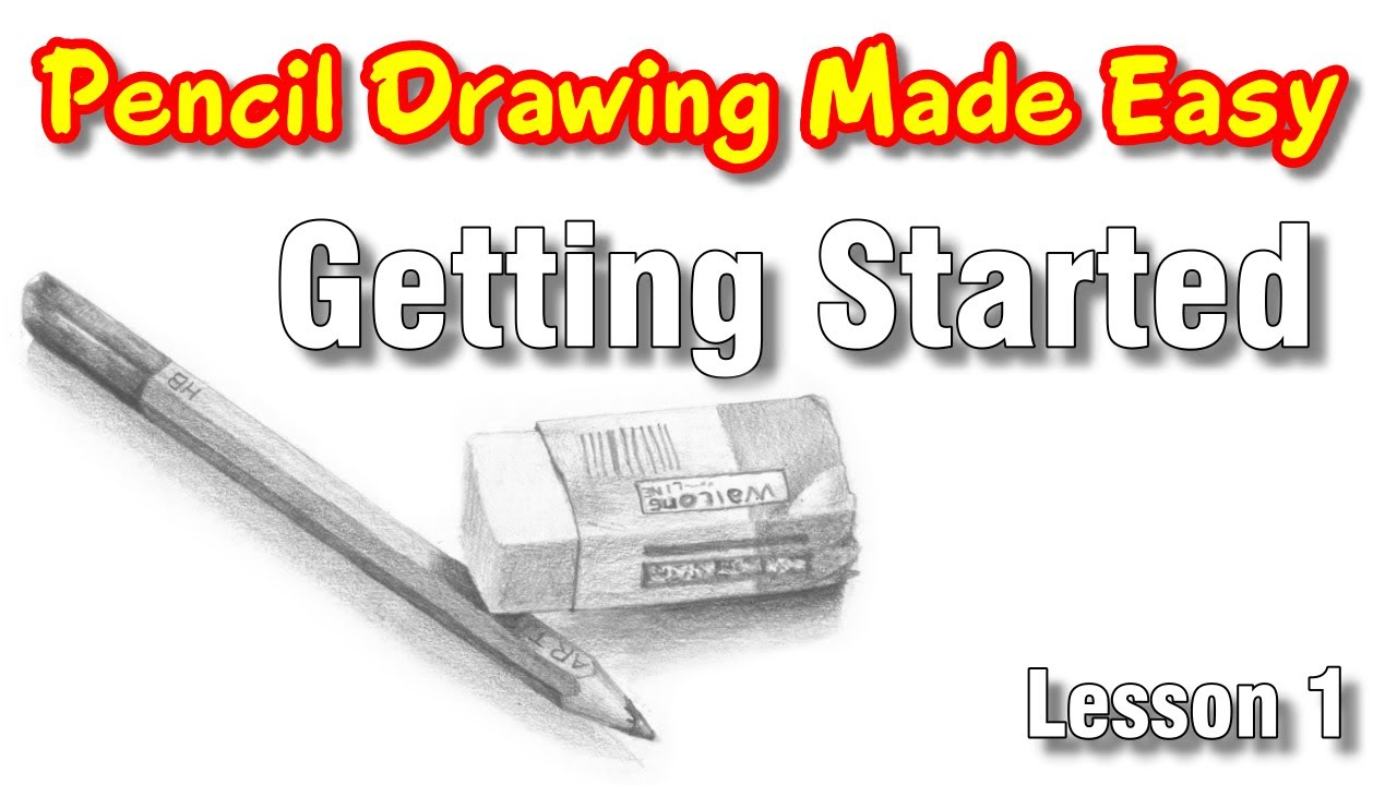 How to learn to draw with a pencil: help for beginners