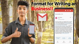 How To Write An Email For Asking Sponsorships & Review Units - My Personal Format📝