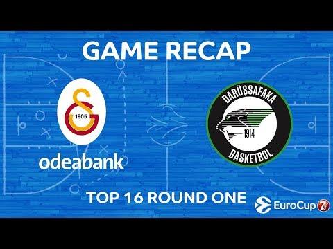 Highlights: Galatasaray Odeabank Istanbul - Darussafaka Istanbul