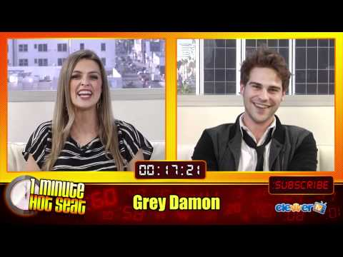 1 Minute Hot Seat  Grey Damon In The Hot Seat