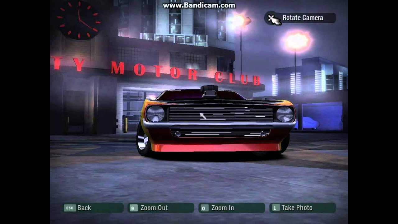 Need For Speed Carbon Muscle Cars Youtube