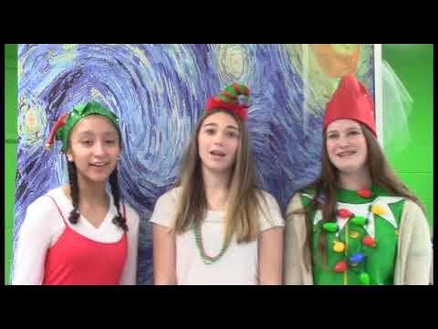 Thorne Middle School Holiday lip dub 2018-2019