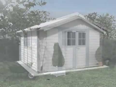 Démo de montage 3D d'un abri PVC GROSFILLEX