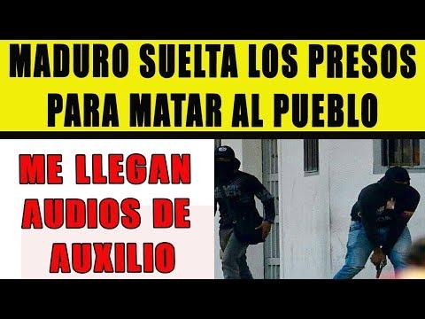 Maduro suelta los presos a la calle para matar al pueblo