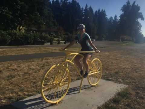 Solo Female Cycle touring across America - Oregon to Idaho on trans America