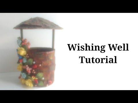 wishing-well-diy-craft-|-recycle-tin-can-|-how-to-make-fairy-well