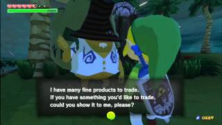 The Legend of Zelda: The Wind Waker HD - Merchant Trade Quest & The Magic Armor