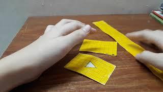 Thử làm squishy giấy 3d nút play youtube_ Ngọc Thủy Channel