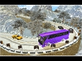 Snow Off-Road Hill Bus Driving (By MobilMinds Apps) Android Gameplay HD
