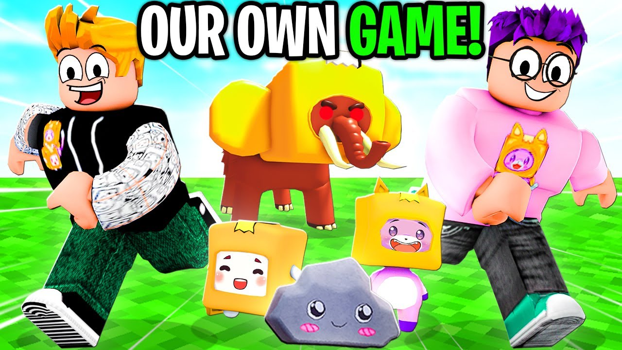 WE MADE A ROBLOX GAME!!! *LANKYBOX SIMULATOR* (SECRETS + SPECIAL CODES REVEALED!)