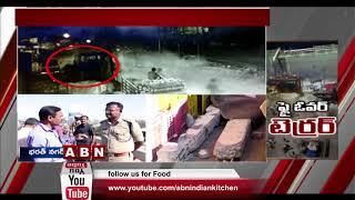 Speeding Car Fell From Bharat Nagar Flyover in Hyderabad | Driver Lost Life, 5 Wounded | ABN