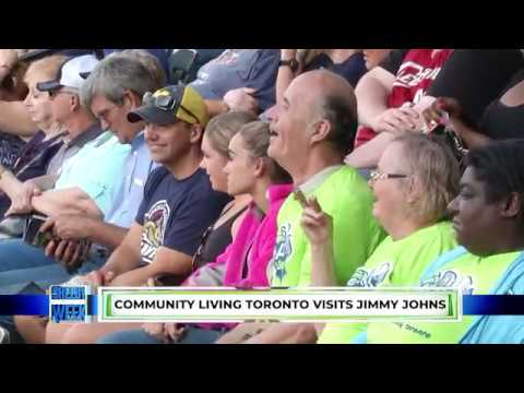 NEWS 6.11.2018 Community Living Toronto Visits Jimmy Johns Field
