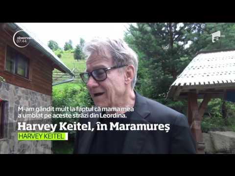 Un actor celebru de la Hollywood, în Maramureş! Harvey Keitel a vizitat locul natal al mamei sale