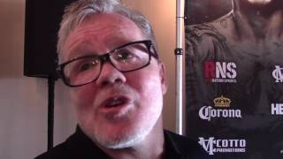 FREDDIE ROACH: I'M NOT SCARED OF ANNE WOLF!!
